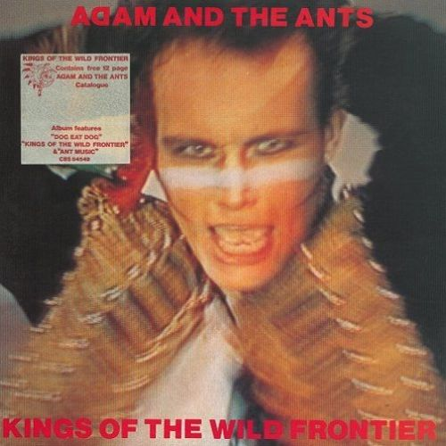 ADAM AND THE ANTS Kings Of The Wild Frontier Vinyl Record LP CBS 1980..